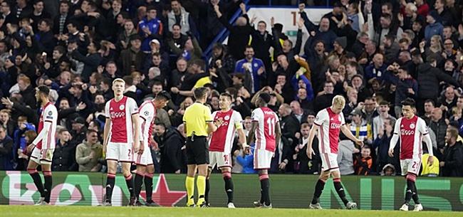 Foto: Chelsea-fans maken Ajacied met grond gelijk: 'Huilbaby'