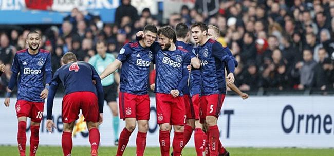 Foto: 'Zéér slecht Ajax-blessurenieuws in aanloop naar PSV'