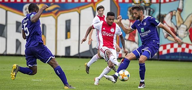 Foto: Ajax scoort er maar liefst vijf tegen Anderlecht