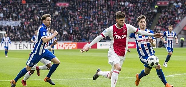 wedstrijd ajax heerenveen
