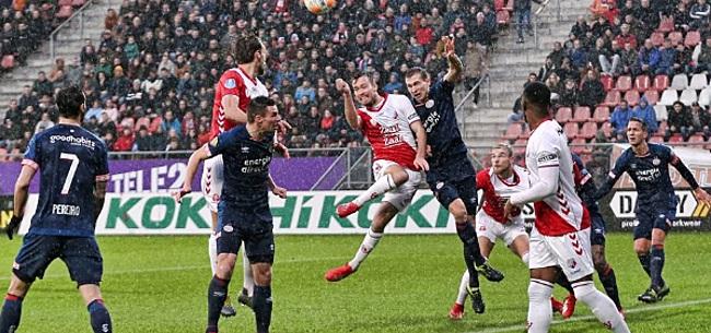 Foto: PSV'er na puntenverlies in Utrecht: 'We hebben een punt gewonnen'