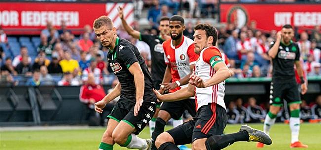 Foto: Fans gaan helemaal los over Feyenoord: