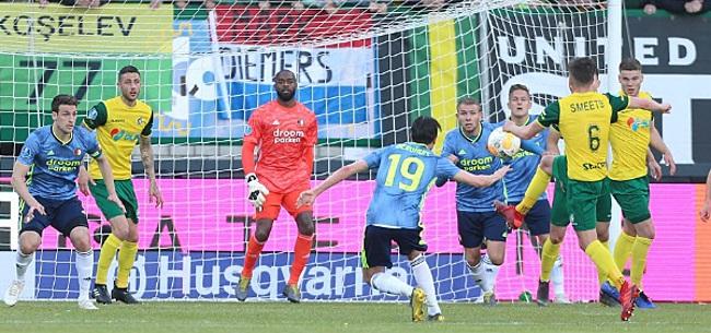 Foto: Van Bronckhorst zwaait Feyenoord uit met zege dankzij Kökcü