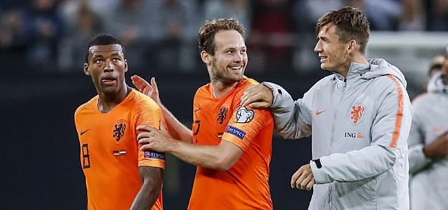 Foto: Fans willen wissel zien bij Oranje: 'Gooi hem eruit'