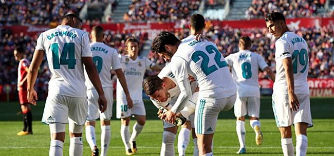 Foto: 'Real-spelers uitgekafferd in kleedkamer na blamage'