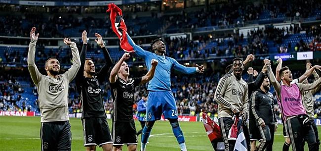 Foto: Ophef op social media: 'Ajax kent tegenstander nu al'