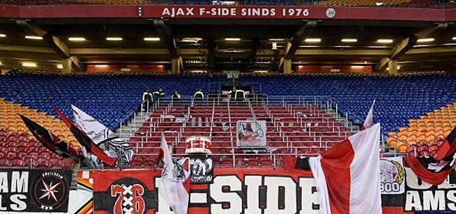 Foto: Ajax buigt zich over minimale aanwezigheid seizoenkaarthouders