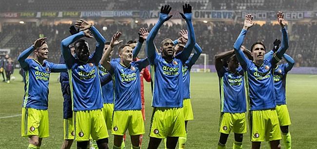 Foto: Feyenoorders voorzien ultiem rampscenario: 'Let maar op'