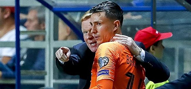 Foto: Oranje-fans tweeten allemaal hetzelfde over Berghuis