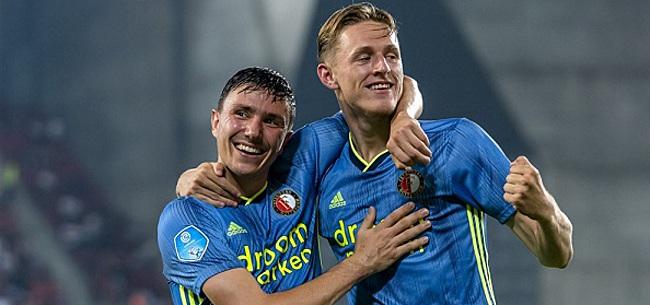 Foto: Berghuis verblijdt Feyenoord-fans met geweldig nieuws