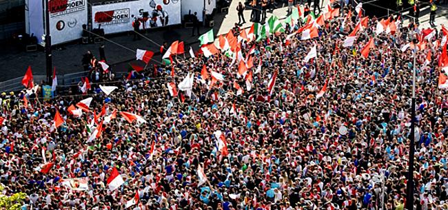 Foto: Véél kritiek op 'prestatie' Feyenoord-supporters