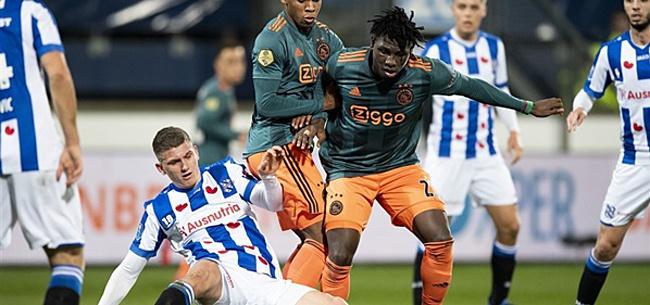 Foto: Bijzonder gebaar Ajax richting SC Heerenveen