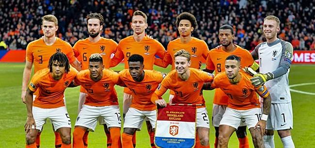 Foto: KNVB onthult eerste Oranje-interland van 2020