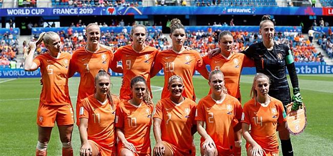 Foto: Nederland tweet massaal over Oranje-vrouwen:
