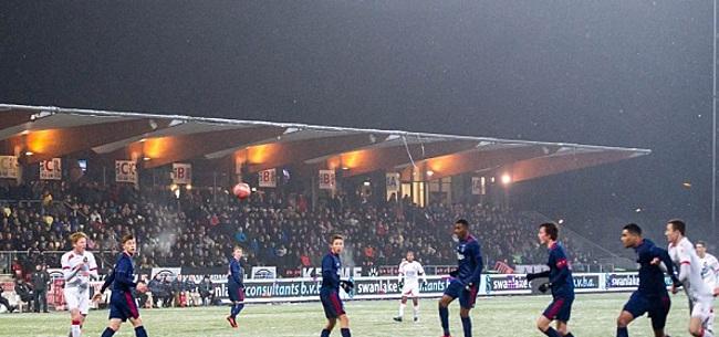 Foto: Contract Telstar-speler per direct verscheurd vanwege bezoekje aan Ajax