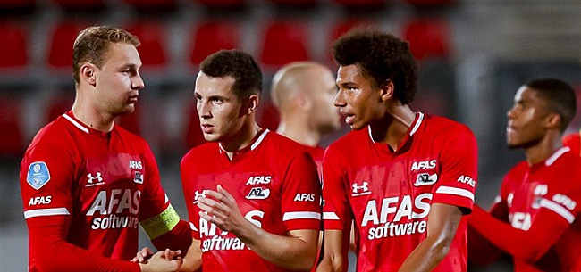 Foto: 'AZ incasseert gevoelige tik in strijd met Ajax'