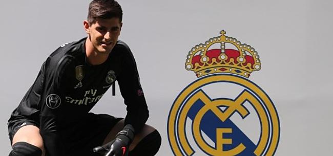 Foto: Concurrentie-oorlog in Real Madrid-doel: Courtois met verrassend nieuw rugnummer