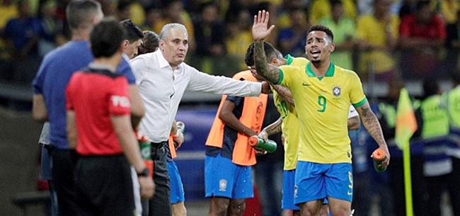Foto: Tite prijst Brazilianen: 'Want Lionel Messi is buitenaards'