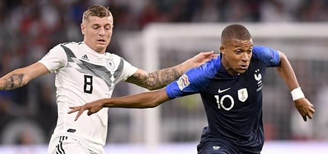 Foto: Duitsland en Frankrijk spelen gelijk in Nations League