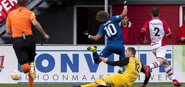 Foto: Kijkers Emmen-Feyenoord zijn het zat: