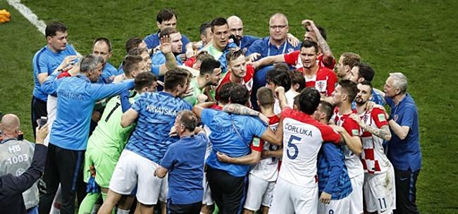 Foto: Kroatische WK-helden maken hartverwarmend gebaar