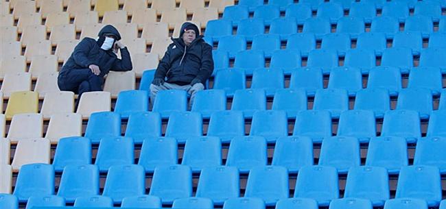 Foto: Belgische club weigert te spelen na positieve coronatest