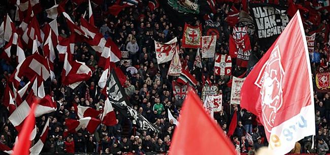 Foto: Kampioenswedstrijd FC Twente: Amsterdam in de problemen