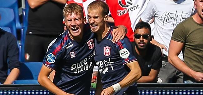 Foto: Oud-Ajacieden schieten Twente naar overwinning