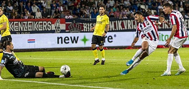 Foto: Eén doelpunt genoeg voor Willem II tegen VVV-Venlo
