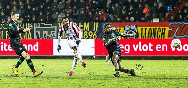 Foto: Effectief Willem II klopt FC Groningen op loodzwaar veld
