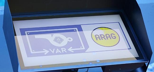Foto: Beoordeling KNVB over VAR: