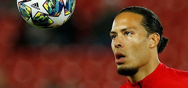 Foto: 'Virgil van Dijk krijgt waanzinnig nieuws over Ballon d'Or'