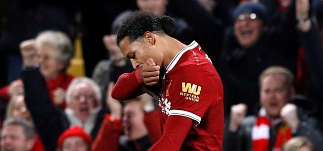 Foto: Liverpool-fans woedend na bizarre 'Van Dijk-beslissing'