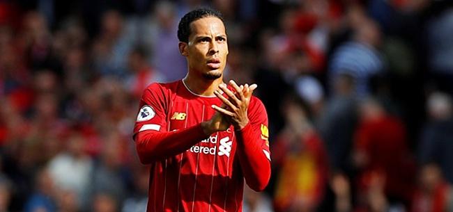 Foto: 'Virgil van Dijk gaat titel als grootverdiener van Liverpool verliezen'