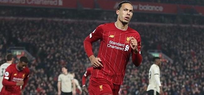 Foto: Van Dijk beslist clash met United en vergroot voorsprong Liverpool