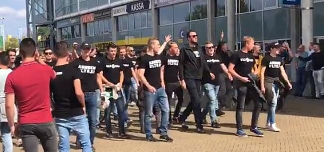 Foto: Vitesse grijpt hard in: 'Racisme is ontoelaatbaar en een strafbaar feit'