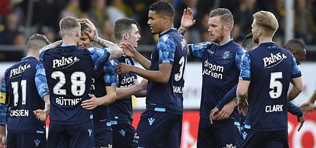 Foto: NAC neemt afscheid van Eredivisie met gelijkspel, Vitesse wint in Venlo