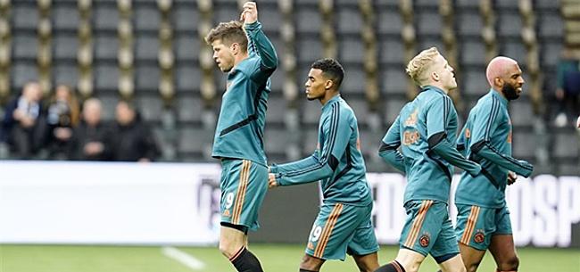 Foto: 'Ajax in de penarie door gigantische blunders'