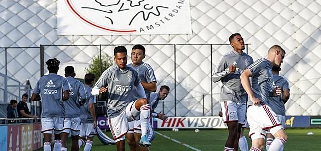 Foto: 'Ik ben ervan overtuigd dat hij zijn dromen bij Ajax gaat waarmaken'