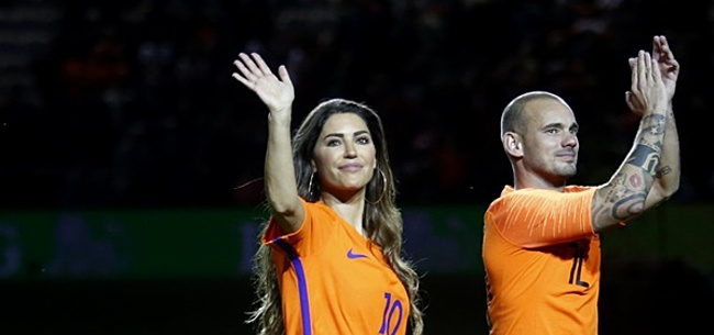 Foto: 'Wesley Sneijder geeft Yolanthe haar zin met laatste transfer'