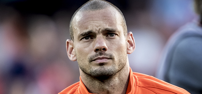 Foto: Sneijder krijgt prachtig cadeau bij OGC Nice