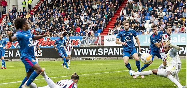 Foto: Willem II-fans willen thuisduel met Feyenoord verplaatsen