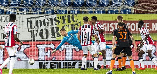 Foto: Bizarre wedstrijd eindigt in pijnlijke nederlaag Willem II