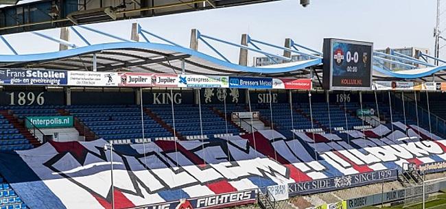Foto: Willem II waarschuwt fans: