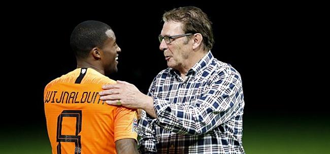 Foto: Van Hanegem: 'Hij moet basisspeler worden bij Oranje'