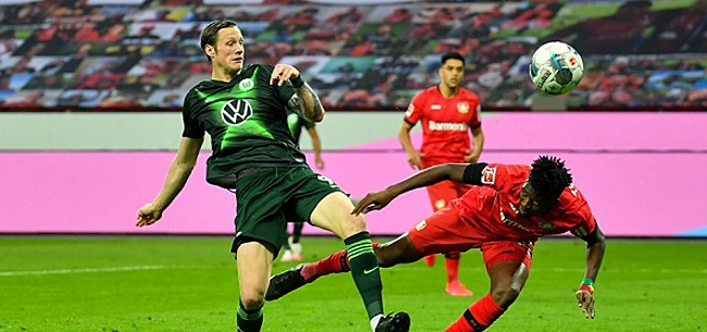 Foto: Weghorst bezorgt Bosz dramatische avond in Leverkusen