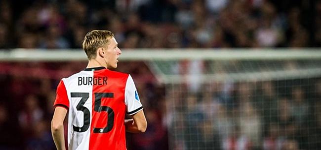 Foto: Feyenoord-talent Burger: