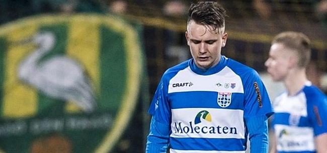 Foto: OFFICIEEL: PEC Zwolle verkoopt middenvelder na 63 duels aan competitiegenoot