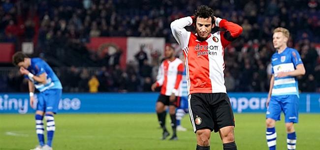 Foto: 'Zelfs bij Jong Feyenoord vielen ze niet op'