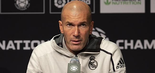Foto: Zidane bagatelliseert veegpartij: